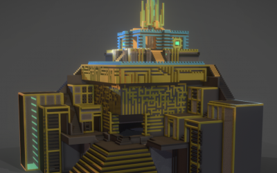 Post-production – Modélisation Voxel
