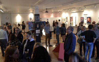 Vernissage de l'exposition Point d'art